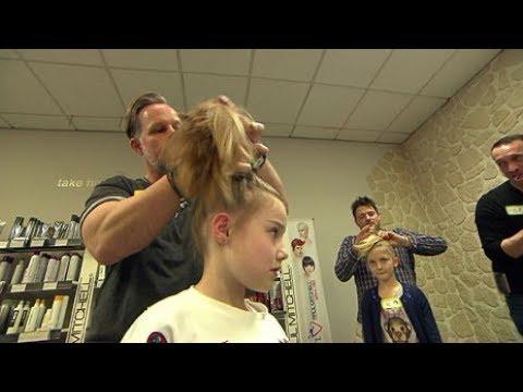 Wie Väter ihre Töchter richtig frisieren